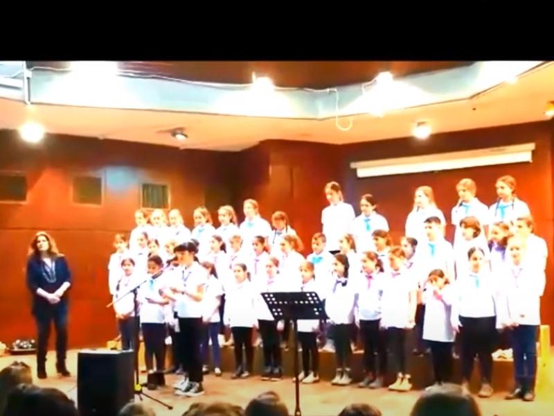 שירת מקהלת יובלי הנגב